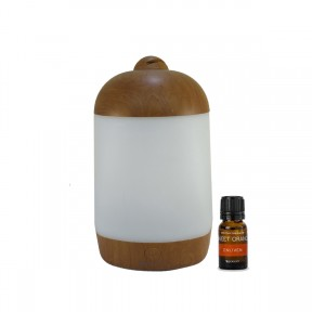Spamist Wood Grain Essential Oil Diffuser